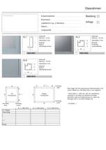 Profi-Line Aluminium-Glasrahmen