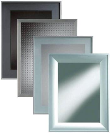 Aluminium-Glasrahmen